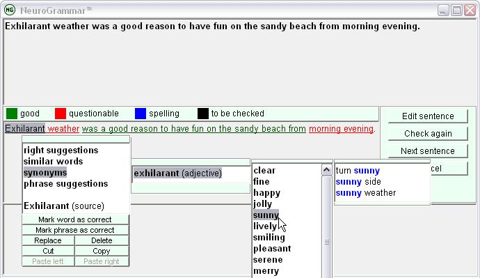 NeuroGrammar™ - This Grammar Checker Works!