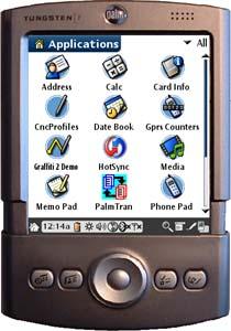PalmTran ikona na Palm OS