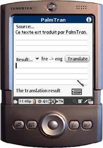 PalmTran avant la traduction: